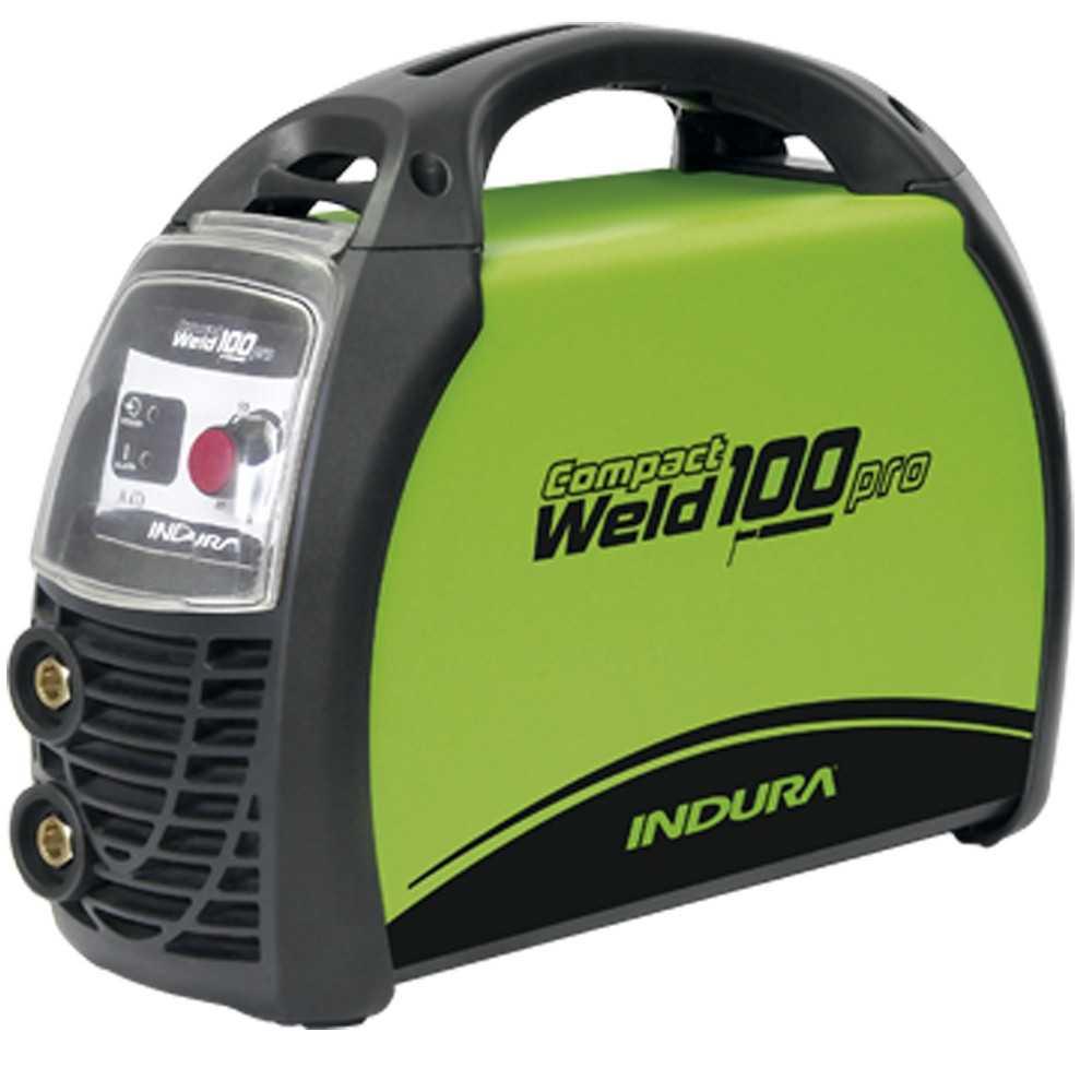 Soldadora 100A Indura Compactweld 100 Pro