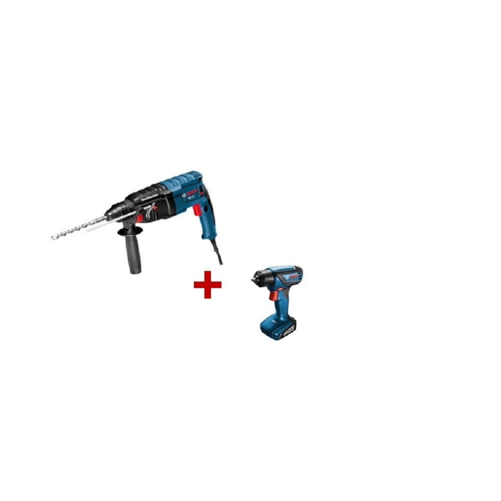 Kit Cyberday Rotomartillo GBH 2-24 D + Atornillador GSR SMART 1000 Bosch 0615A0009J