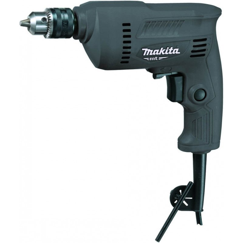 MT Taladro Rotación 10 mm + Set Set 5 brocas Multiaplicación (4, 5, 6, 8, 10 mm) Makita M0600G + D-36778