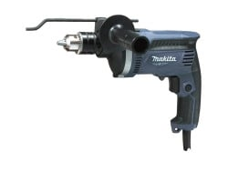 MT Taladro percutor 13 mm 710W C/maleta + Set 5 Brocas M-Force Multiaplicación (4, 5, 6, 8, 10 mm) Makita M8100KG + D-30508
