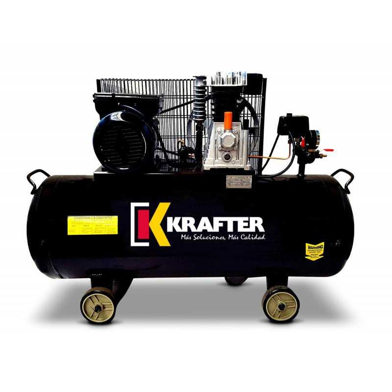 Compresor 3 HP - ACK 100 Lts. 220V Krafter 4449000010030