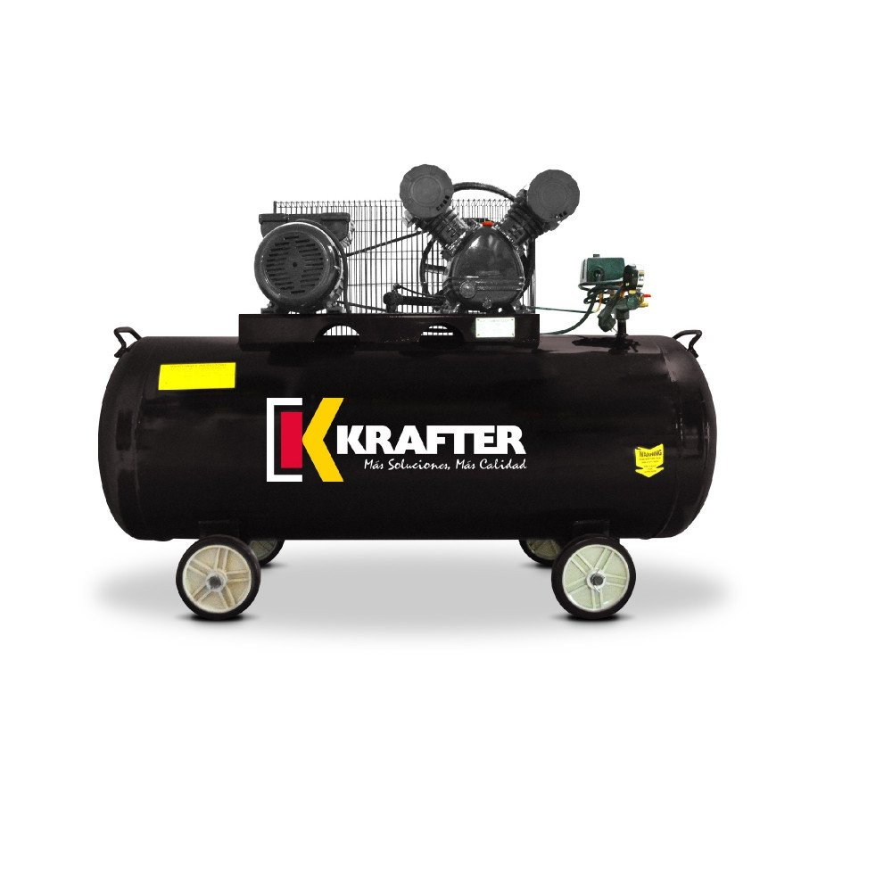 Compresor 3 HP - ACK 300 Lts. 220V Krafter 4449000030030