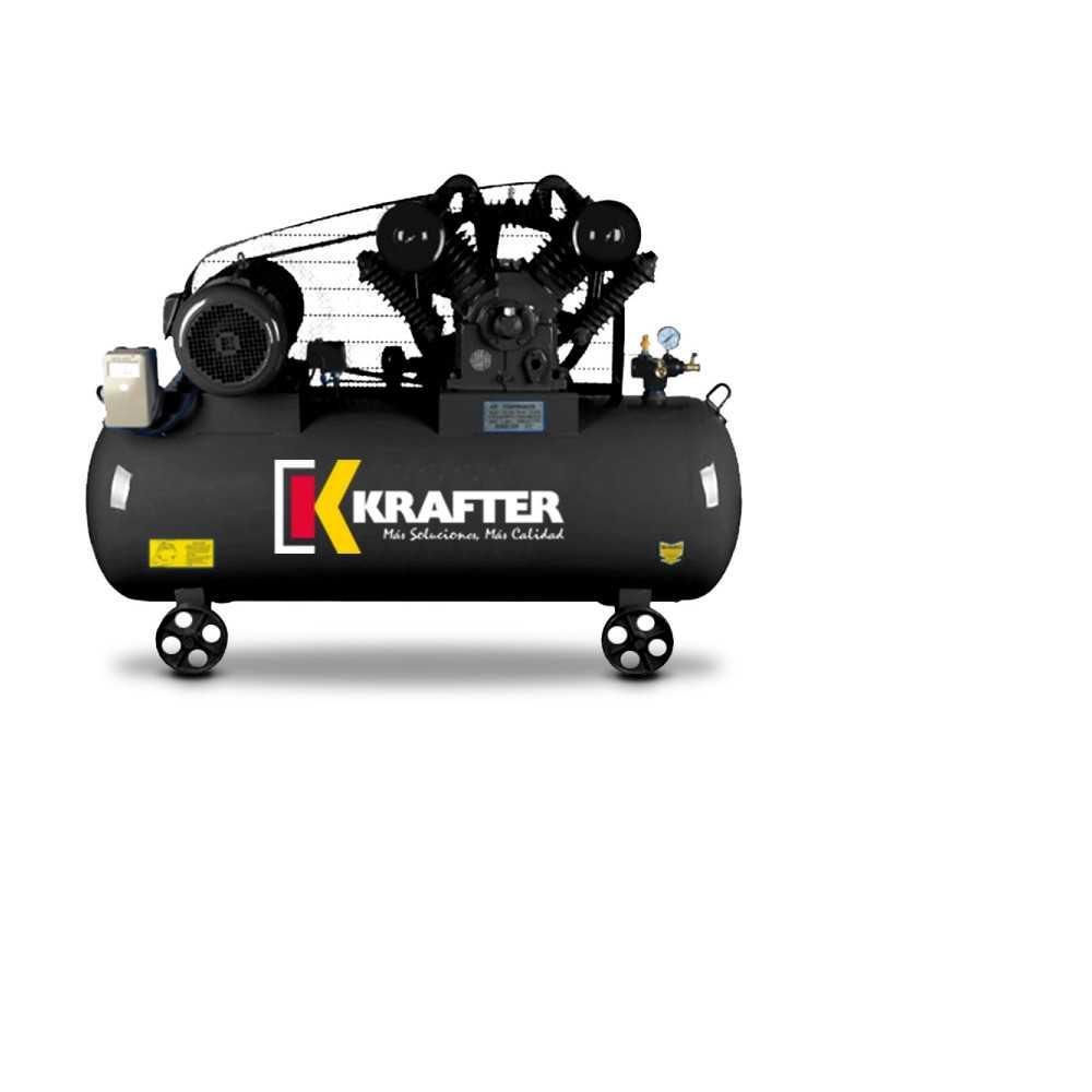 Compresor 10 HP - ACK 300 Lts 380V Krafter 4449000030010