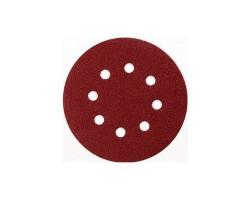 Set 10 Discos de lijas abrasivas 125 MM Makita D-54536