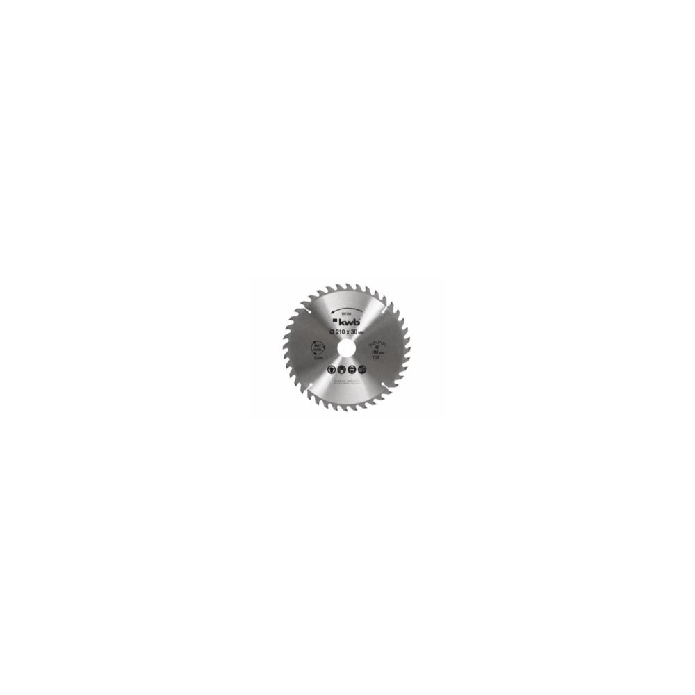 "Disco de Sierra 8-1/4""x30x40 Dientes KWB 49587756"