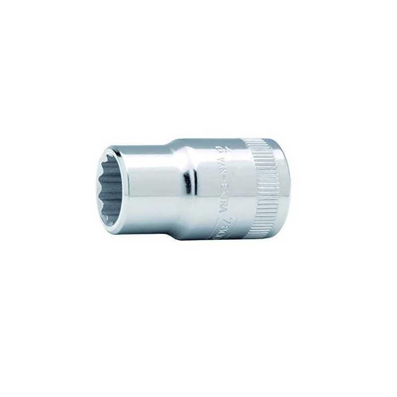 """Dado Poligonal 1/2"""" x 25 mm Bahco 7800DM-25"""