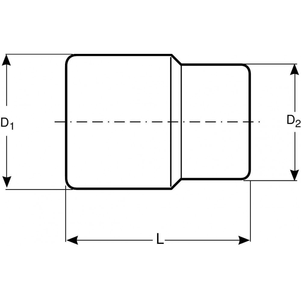 """Dado Poligonal 1/2"""" x 3/8"""" Bahco 7800DZ-3/8"""