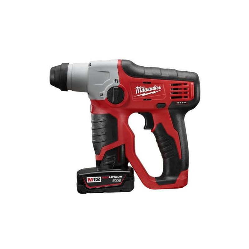 "Rotomartillo con Batería M12 SDS-Plus 1/2"" Milwaukee 2412-259"