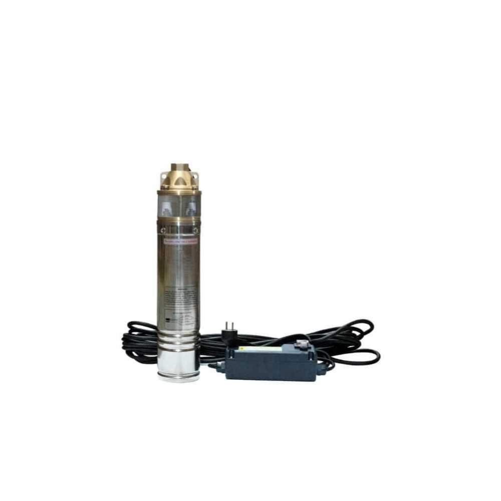 """Bomba de Agua Pozo profundo 4"""" Monoblock 1 HP / 0.75 Kw Para aguas limpias Hyundai 82HY4SKM100"""