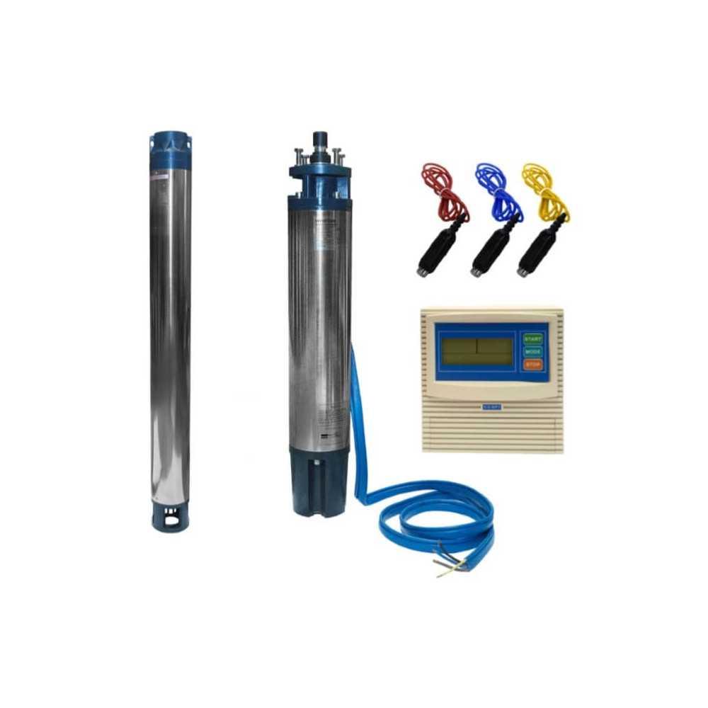 "Bomba Trifásica Para Pozo Profundo 6"" 7.5 HP/ Para agua limpia con impurezas Hyundai 82HY6S-10BOX"