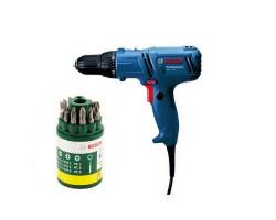Kit Cyberday Atornillador 400W GSR 7-14 E + Set 10 puntas 2607019454 Bosch 0601.447.0E0-000