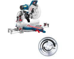 "Kit Cyberday Sierra Ingleteadora 12"" GCM 12 GDL+Disco de Sierra Circular 12"" Bosch 0601.B23.6E0-000"