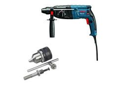 Kit Cyberday Martillo Perforador GBH 2-24 D+Adaptador SDS-PLUS c/Mandril Bosch 0611.2A0.0N0-000