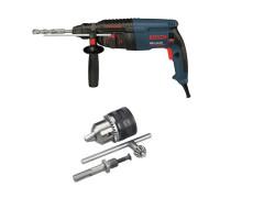 Kit Cyberday Martillo Perforador GBH 2-26 DRE+Adaptador SDS-PLUS c/Mandril Bosch 0611.253.7N0-000