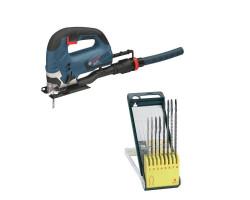 Kit Cyberday Sierra Caladora GST 90 BE+Set c/8 hoja de Sierra de Calar Bosch 0601.58F.0N0-000