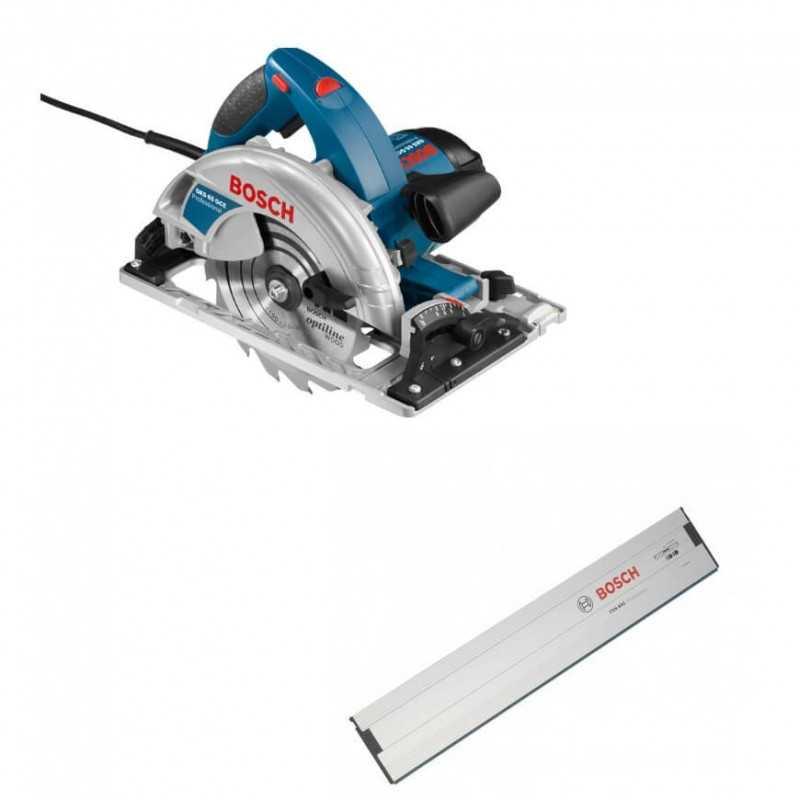 "Kit Cyberday Sierra Circular 7-1/4"" GKS 65 GCE + Riel 800 mm de largo Bosch 0601.668.7N1-000"