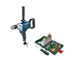 Kit Cyberday Taladro 850W GBM 1600 RE+Set Puntas y Brocas 40 Pzs Bosch 0601.1B0.0E0-000