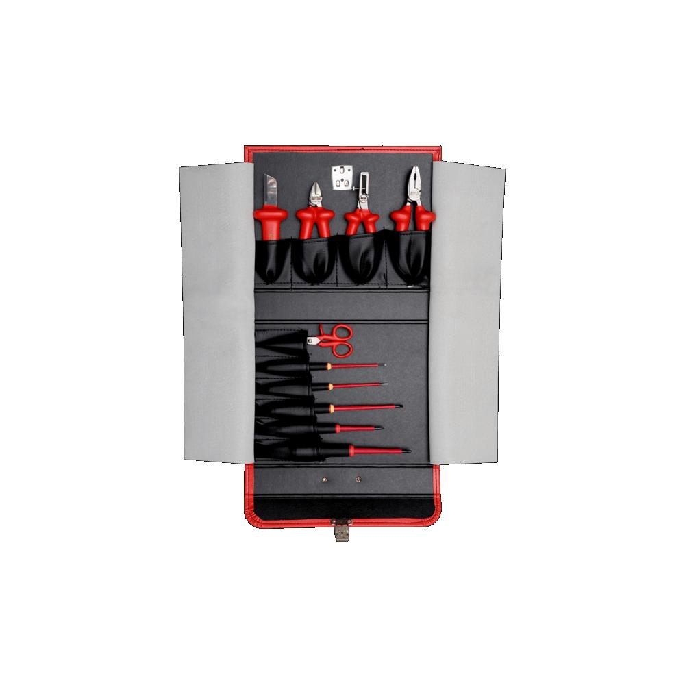 Juego de Herramientas Dieléctricas Aisladas 10 Piezas Bahco 3045V-1
