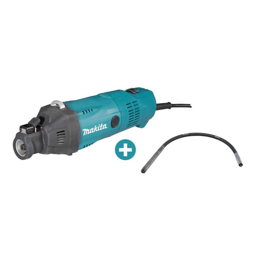 Vibrador de Concreto 2200W VR1000 + Eje Flexible 4.5M Makita VR1000 - 3