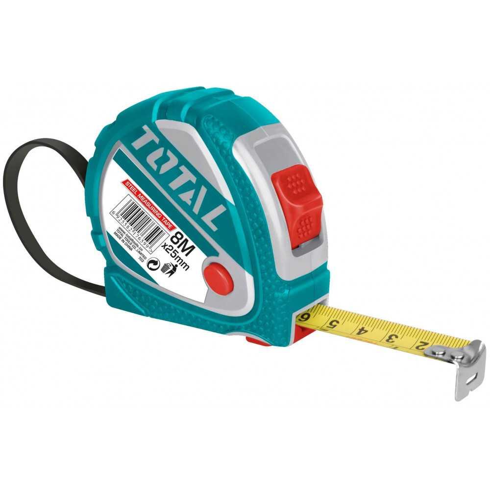 Huincha de Medir 8MT Total Tools TMT126081