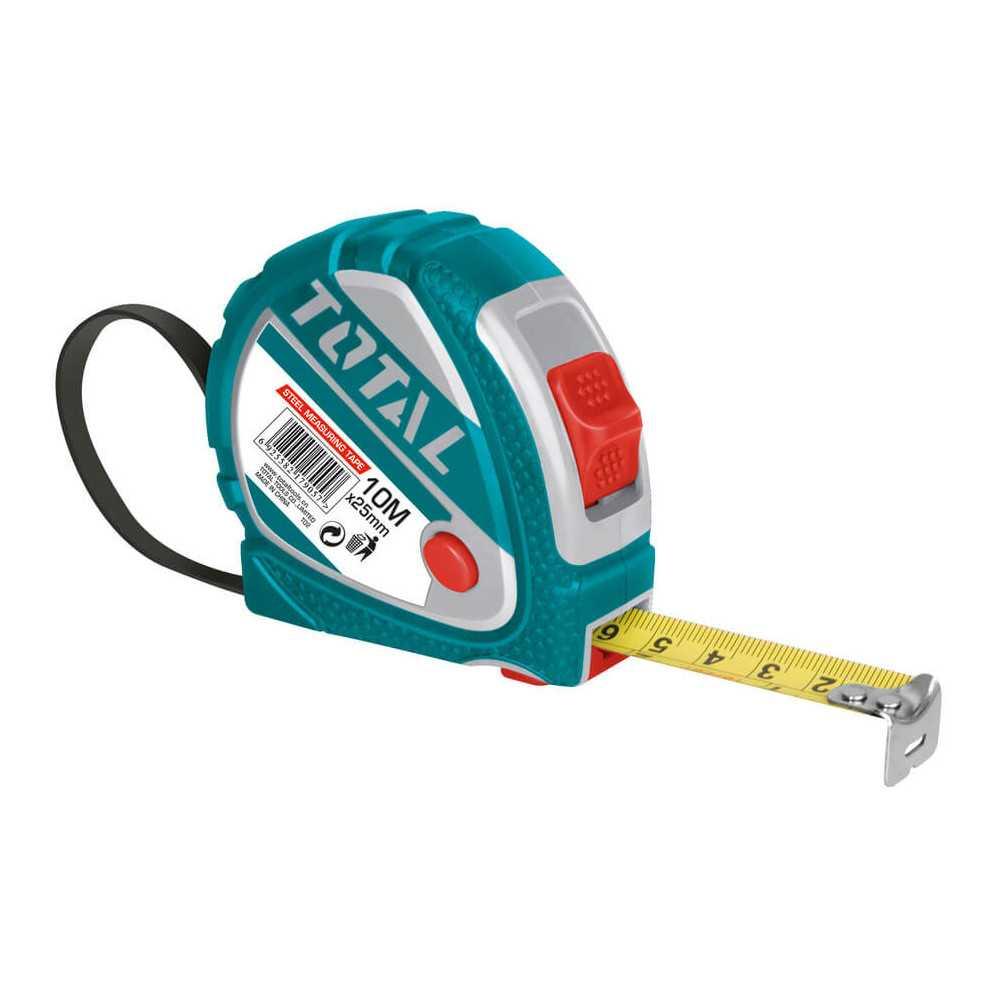 Huincha de Medir 10MT Total Tools TMT126101