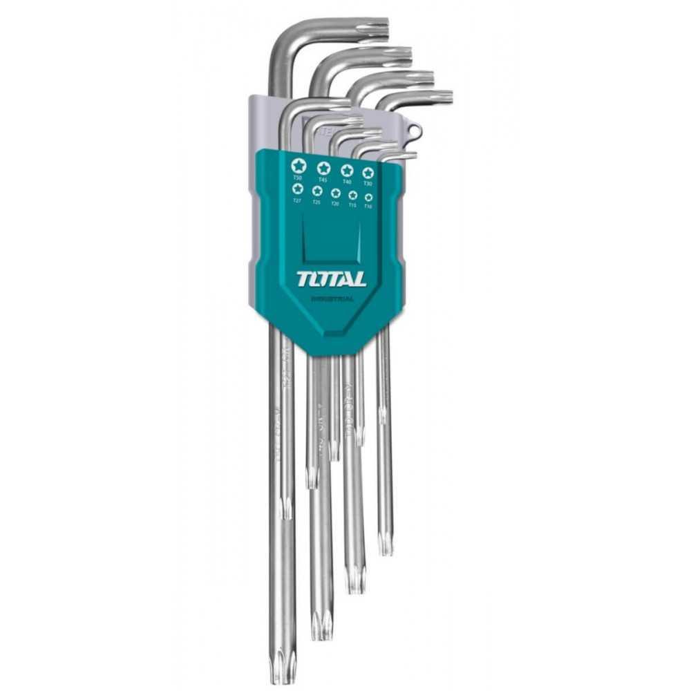 Juego de Llaves Estrella 9Pcs Total Tools THT106391