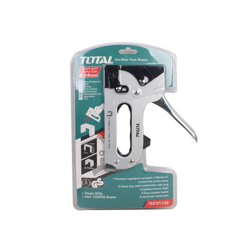 Engrapadora Industrial 6-14mm Total Tools THT31142