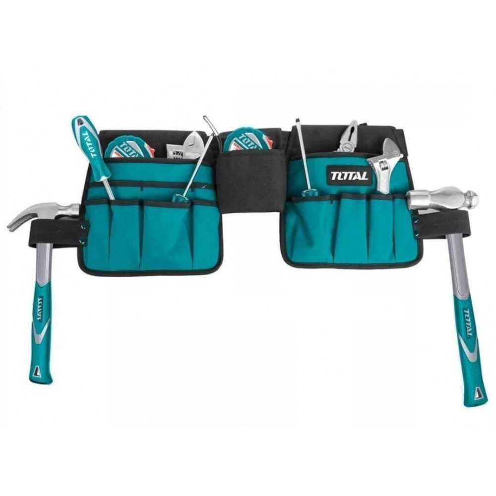 Cinturón carpinero Ajustable Total Tools THT16P2031
