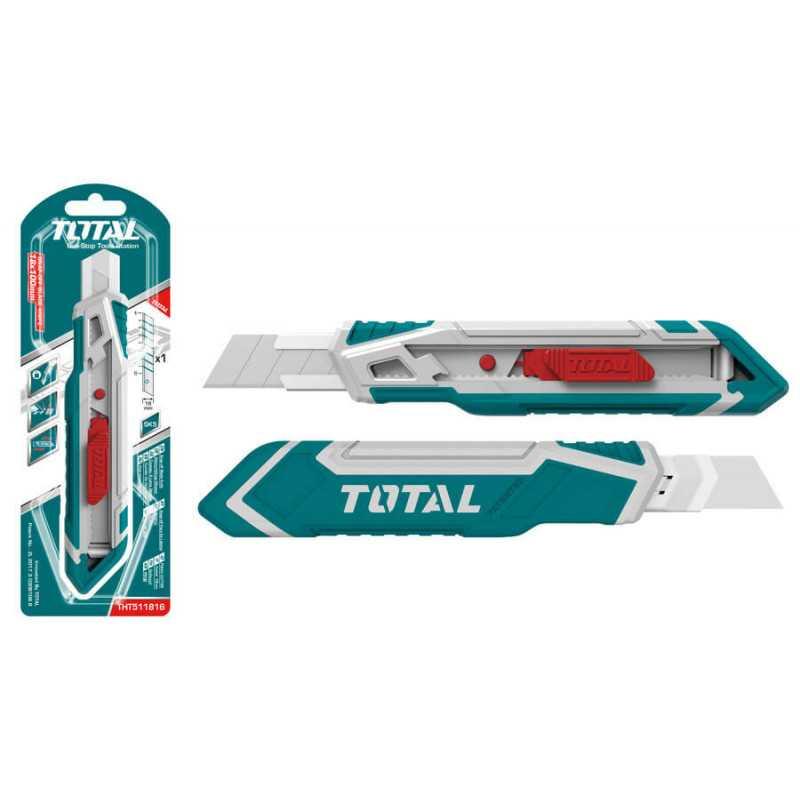 Cuchillo Cartonero 173mm Total Tools THT511816