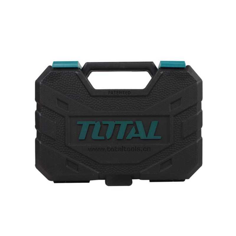 """Juego de Dados 45 PCS 1/4"""" Total Tools THT141451"""
