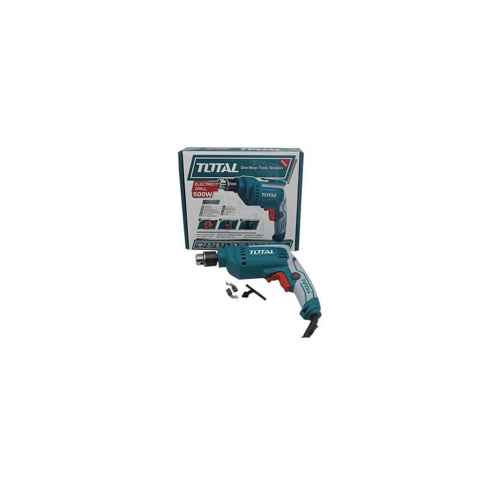Taladro Eléctrico 10mm 500W Total Tools TD2051026