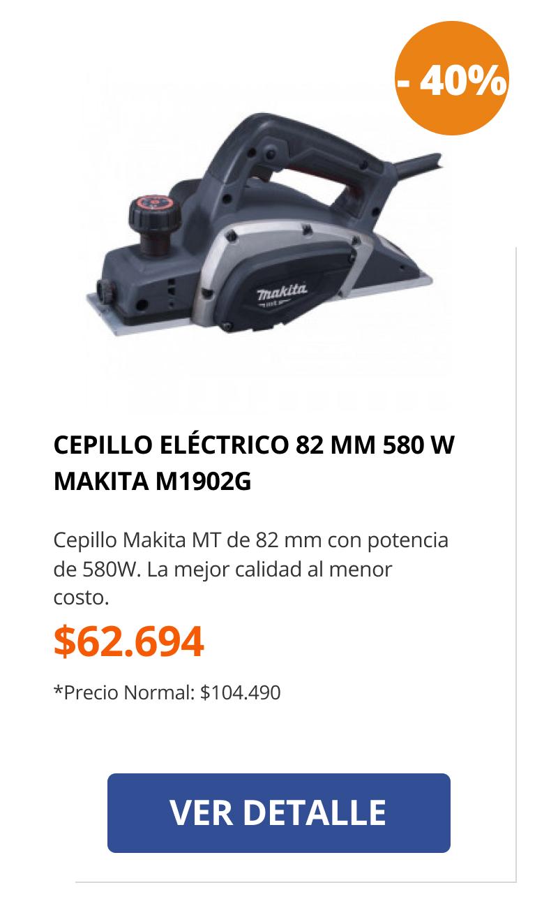 Cepillo eléctrico 82mm